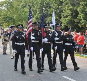 Honor Guard PTC Parade