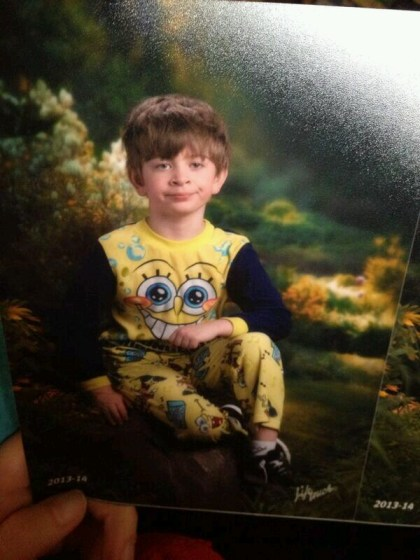 Pajama Picture Day