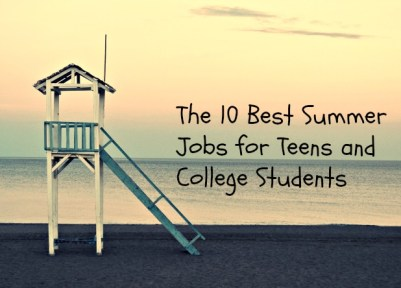 Great summer jobs for college students