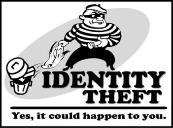 identity theft cartoon