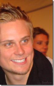 Billy with Fan