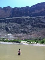 Sneaking into Mexico at Big Bend