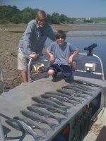 Fishing at Lake Texoma
