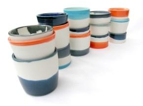 porcelain cups