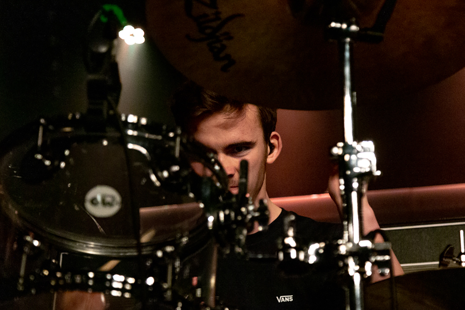 bloxx drummer performing at the leadmill sheffield