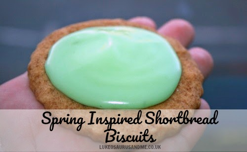 Recipe: Spring Inspired Shortbread Biscuits
