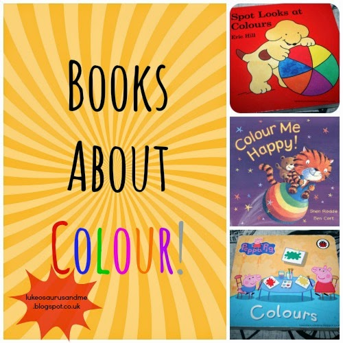 Books About Learning Colour from lukeosaurusandme.co.uk