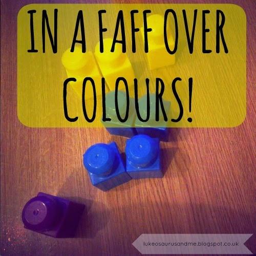 Learning Colours at lukeosaurusandme.co.uk