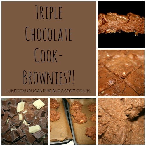 Triple Chocolate Cookies Brownies from lukeosaurusandme.co.uk
