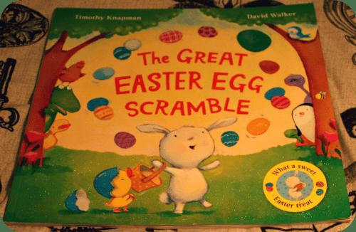 Easter Activities For Toddlers. Easter Books - The Great Easter Egg Scramble from lukeosaurusandme.co.uk