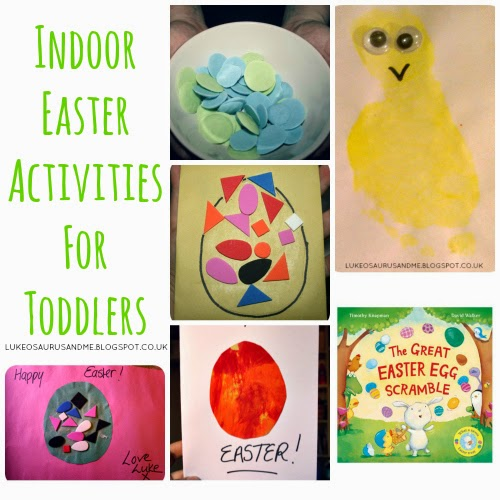 Indoor Easter Activities For Toddlers from lukeosaurusandme.co.uk