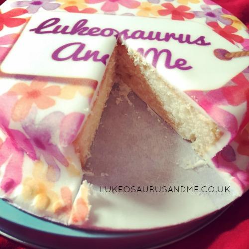 Baker Days Letter Box Cake review from lukeosaurusandme.co.uk