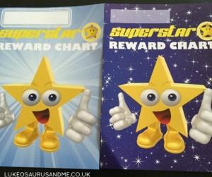 Superstar Reward Sticker Charts lukeosaurusandme.co.uk