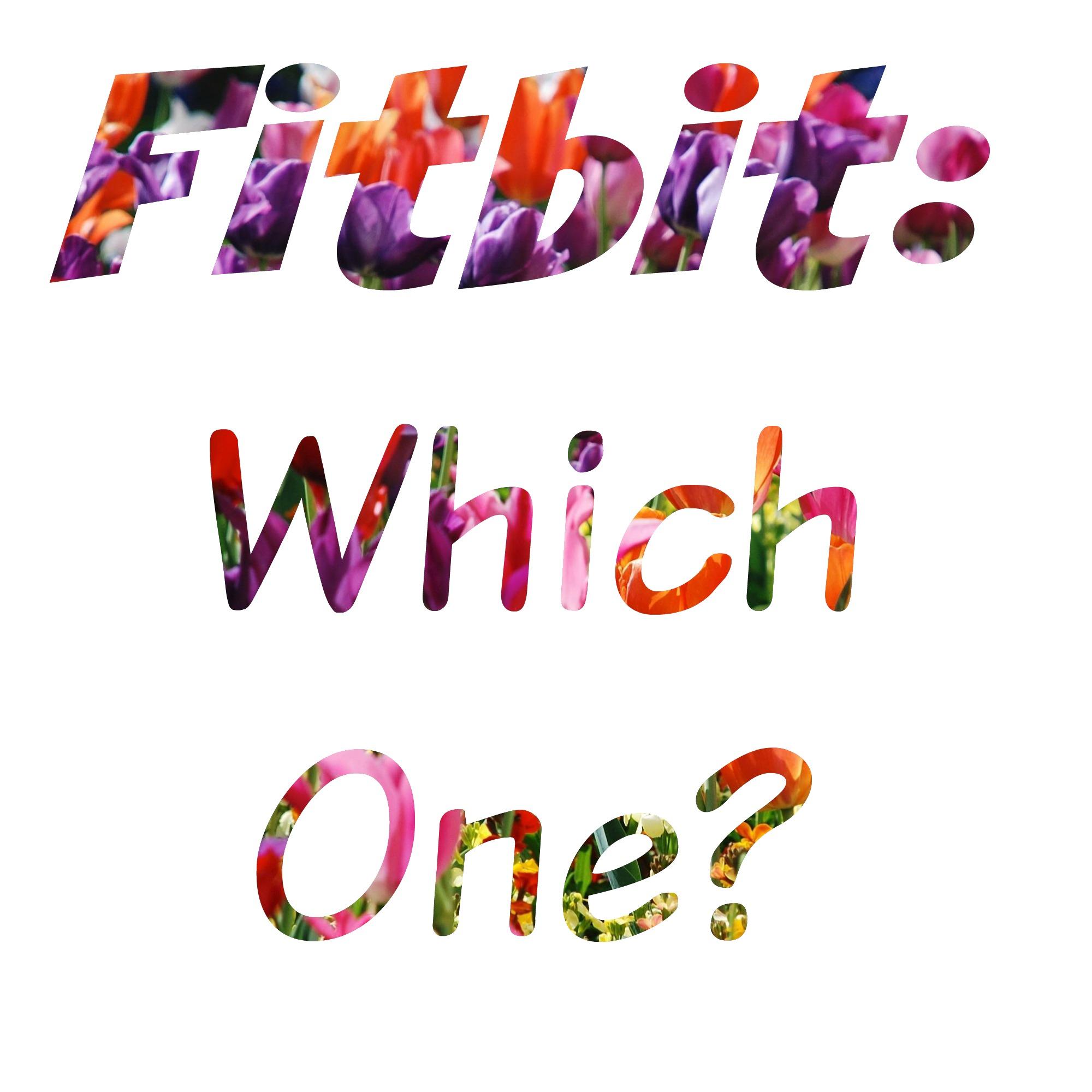 Choosing a Fitbit from lukeosaurusandme.co.uk