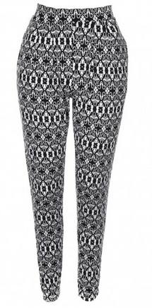 Patterned trousers from lukeosaurusandme.co.uk