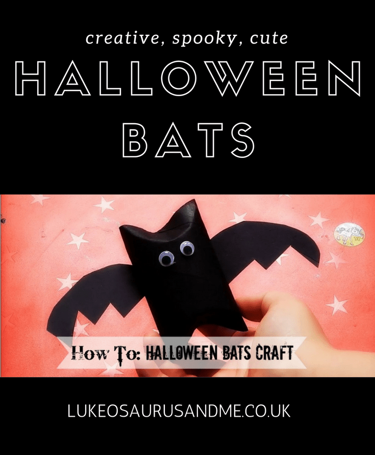 Halloween crafts for toddlers and preschoolers at https://lukeosaurusandme.co.uk