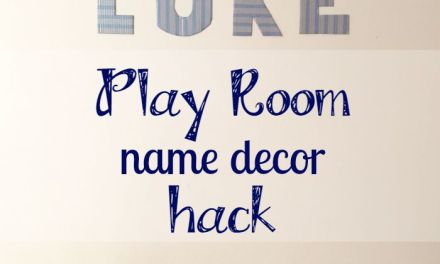 How To: Play Room Name Decor Hack