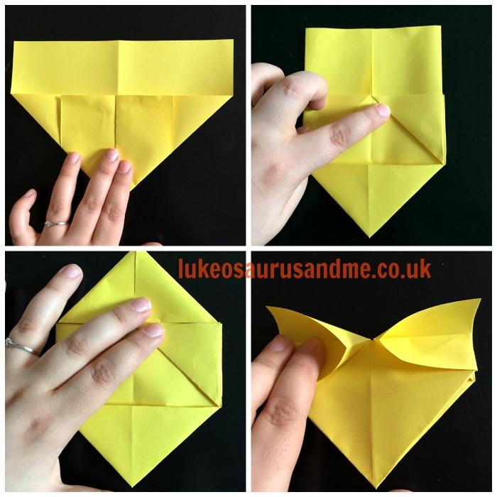 Origami Hearts Tutorial https://lukeosaurusandme.co.uk @gloryiscalling