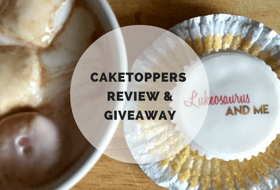 Caketoppers Review & Giveaway
