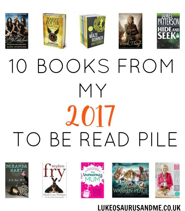 10 Books From My 2017 To Be Read Pile at https://lukeosaurusandme.co.uk