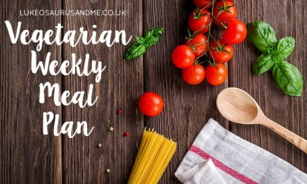 Money: Vegetarian Weekly Meal Plan #1