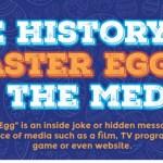 Top Easter Eggs in films, tv shows and games at https://lukeosaurusandme.co.uk