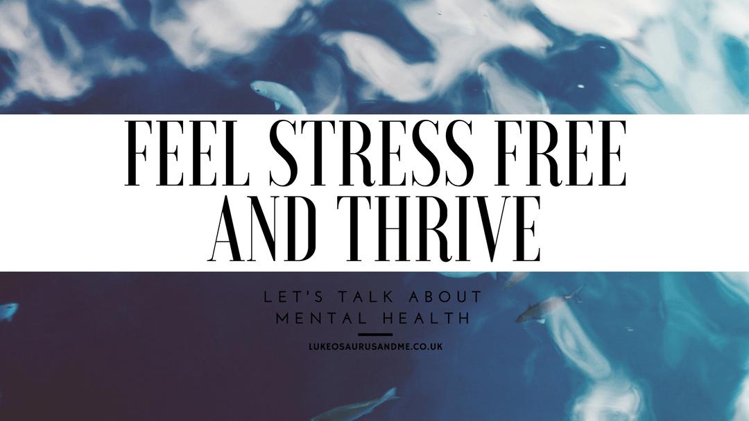 Review of mental health app, Thrive, at https://lukeosaurusandme.co.uk