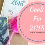 New Years Resolutions for 2018 at https://lukeosaurusandme.co.uk