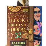 Don't Ever Look Behind Door 31 children's book review at https://lukeosaurusandme.co.uk