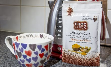 Food: Choc Chic Blissful Blends Turmeric and Ginger