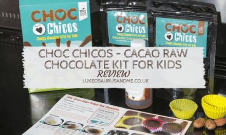 Food: Choc Chicos – Cacao Raw Chocolate Kit For Kids