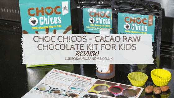 Food: Choc Chicos – Cacao Raw Chocolate Kit For Kids