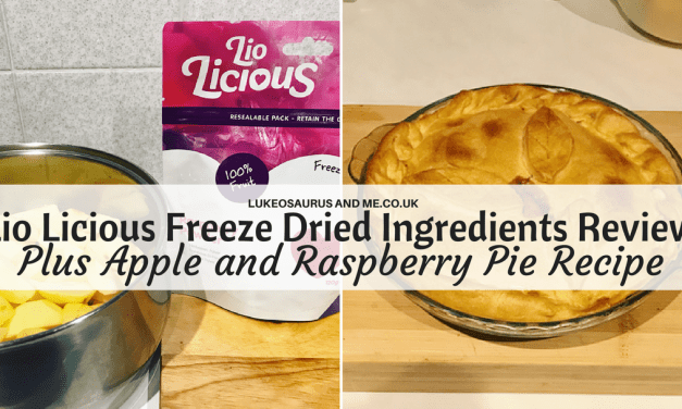 Lio Licious Freeze Dried Ingredients + Apple and Raspberry Pie Recipe