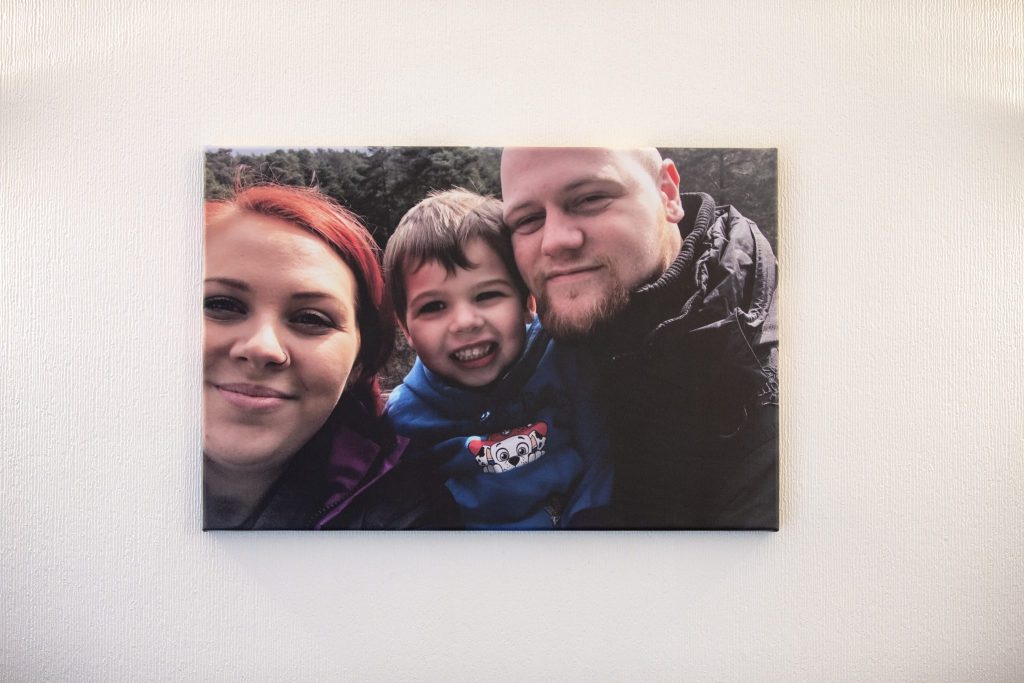 Print that perfect family photo off and have it as a beautiful canvas print - 10% off voucher code for canvas printing thanks to My-Picture on https://lukeosaurusandme.co.uk