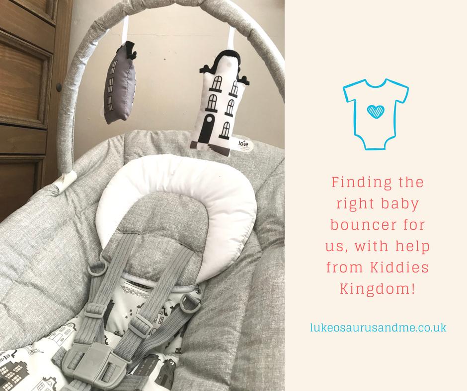 Kiddies Kingdom Baby Bouncer Range - Joie Wish Petite City at https://lukeosaurusandme.co.uk