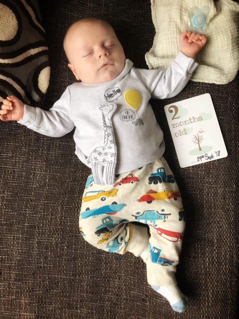 Oscar's 2 month old update at https://lukeosaurusandme.co.uk