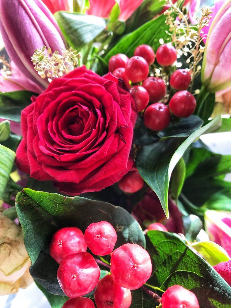 Appleyard Flowers Valentine's Day Gift at https://lukeosaurusandme.co.uk