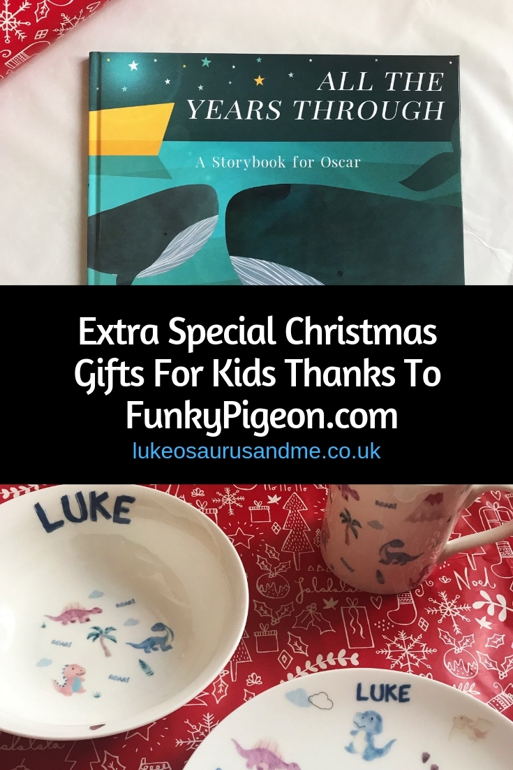 Extra Special Christmas Gifts For Kids Thanks To FunkyPigeon.com at https://lukeosaurusandme.co.uk