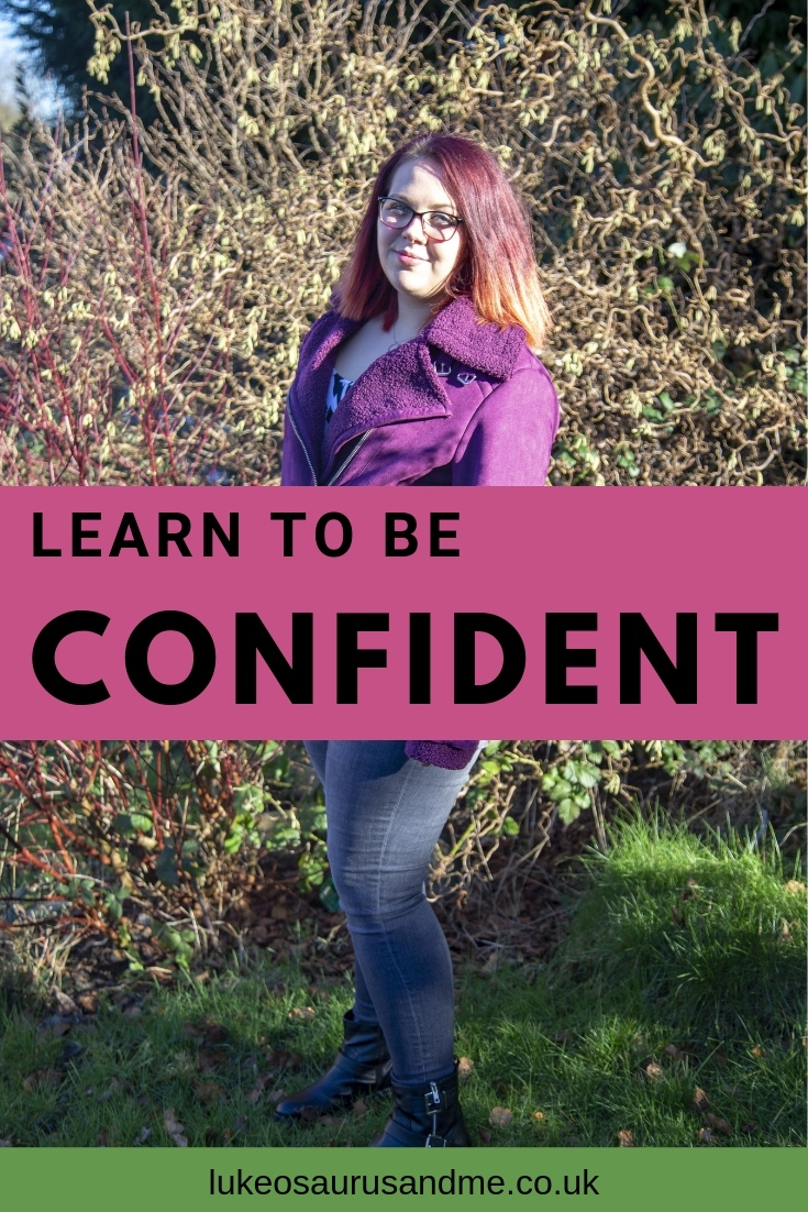 Learn to be confident and boost your self-esteem. Clothes gifted by JD WIlliams. Read more at https://lukeosaurusandme.couk