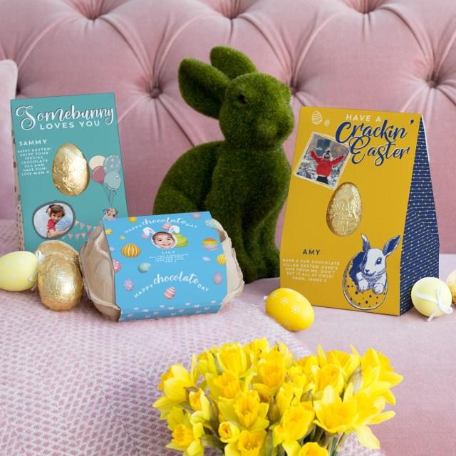 Vanilla Reindeer personalised Easter egg giveaway at https://lukeosaurusandme.co.uk
