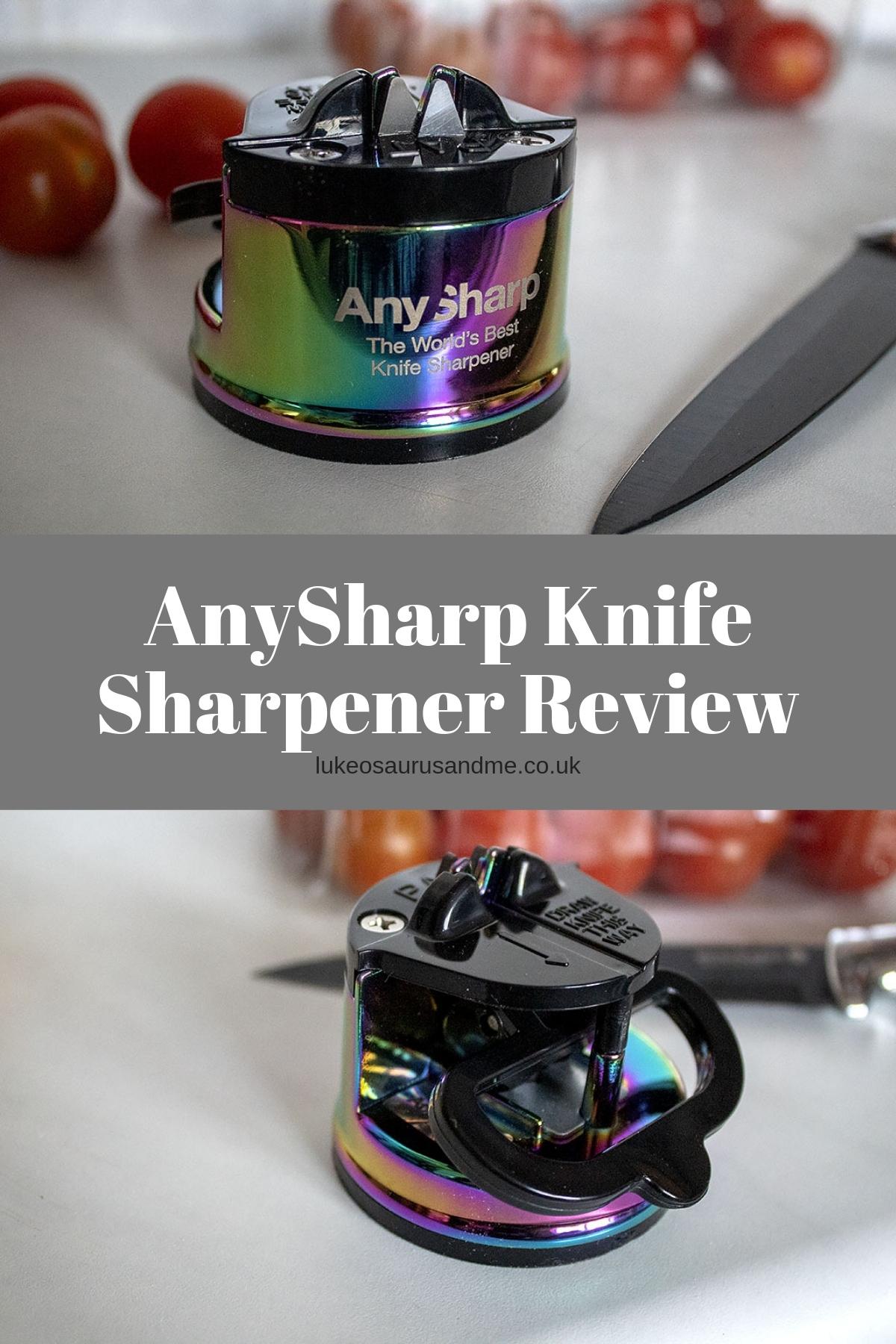 AnySharp Knife Sharpener Review at https://lukeosaurusandme.co.uk