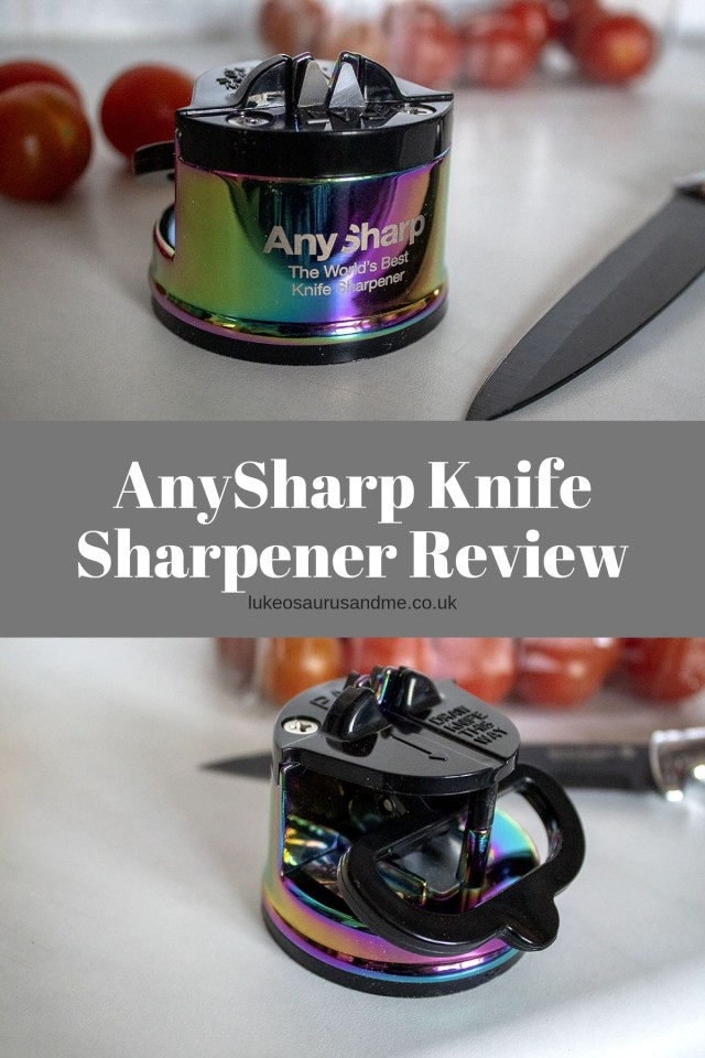 AnySharp Knife Sharpener Review at https://lukeosaurusandme.co.uk