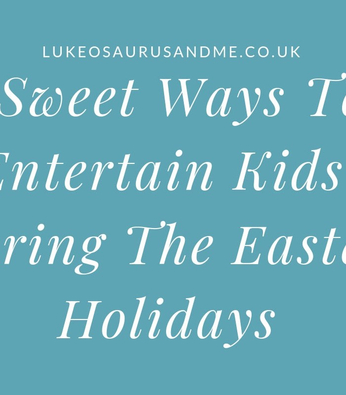 9 Sweet Ways To Entertain Kids During The Easter Holidays (+Giveaway) at https://lukeosaurusandme.co.uk