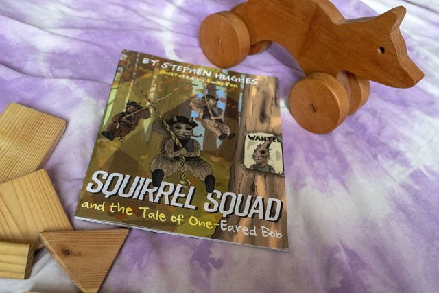 Squirrel Squad and the Tale Of One-Eared Bob (Giveaway) at https://lukeosaurusandme.co.uk