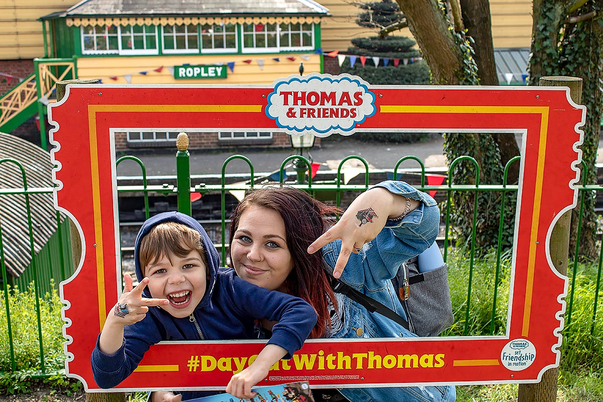 Day Out With Thomas at the Watercress Line review. Read more at https://lukeosaurusandme.co.uk