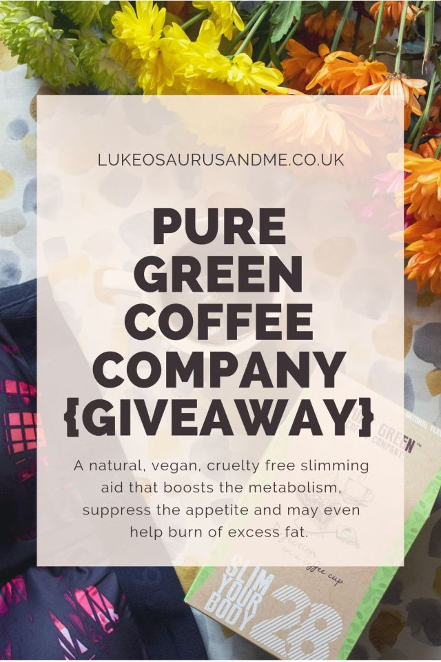 Pure Green Coffee Company Review and Giveaway at https://lukeosaurusandme.co.uk
