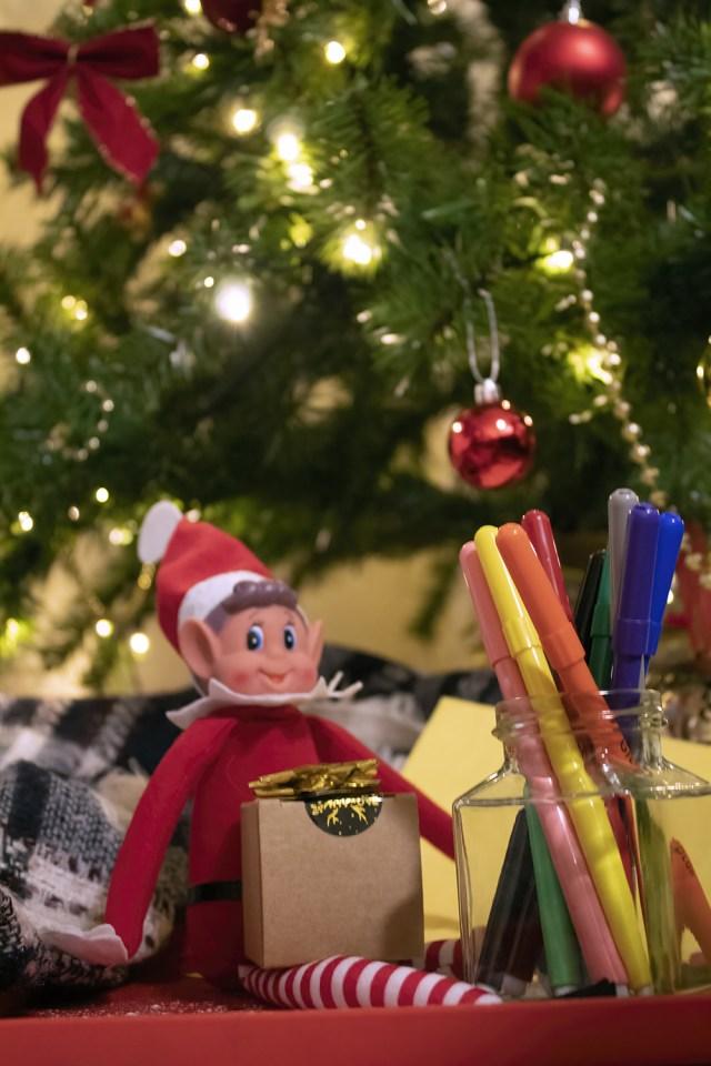 Elf On The Shelf gift giving