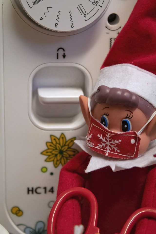 Elf On The Shelf sewing