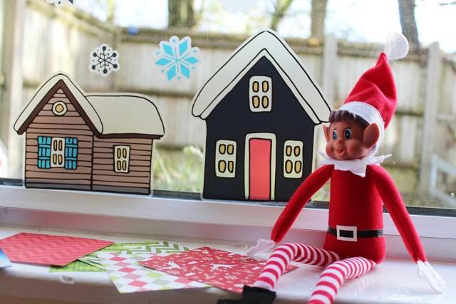 Elf On The Shelf window display
