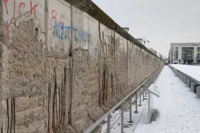 Berlin Wall at Topography of Terror site